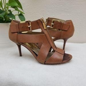 Michael Kors high heel sandals size 6.